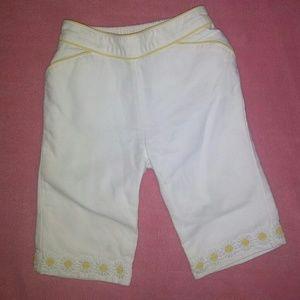 Gymboree Daisy pants. Toddler girls 2t